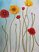Fort Worth Painting Prints - Fleurs II Print by Venus
