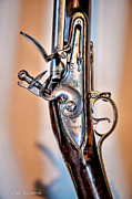 Ocularperceptions Metal Prints - Flintlock Metal Print by Christopher Holmes