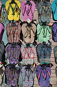 Los Angeles Photos - Flip Flops by Peter Tellone