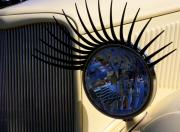 Car Detail Photos - Flirting with a 1933 Ford by Joe Kozlowski