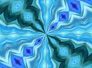 Inspired By The Sea - Float Abstract Pattern 1 by Angelina Vick