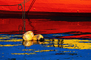 James Brunker - Floating Buoys and Reflections