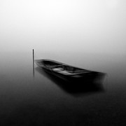 Gloomy Photos - Floating by Davorin Mance