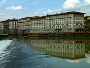 Anna Duyunova Art Photos - Floating Florence by Anna and Sergey