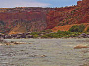 Northern Colorado Prints - Floating The Colorado River Print by David Dardis