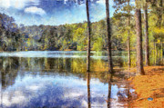 Daniel Prints - Flooded Allatoona Print by Daniel Eskridge