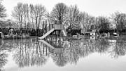 Flooding Photos - Flooded playground by Vinicios De Moura