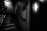 Stairway Prints - Floor Two After Dark Print by Bob Orsillo