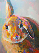 Kelly Painting Originals - Flopsy by Kimberly Santini