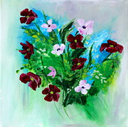 Parul Mehta - Floral Abstract one