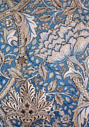 Tapestries Textiles Prints - Floral Design Print by William Morris