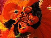 Photo Manipulation Originals - Floral Digi Manip 20 by Gene Cyr