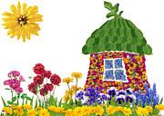 Aleksandr Volkov - Floral eco house concept