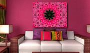All - Floral Fantasy - 24 - Art Ideas for Interior Design by Hanza Turgul