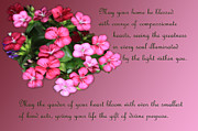Linda Phelps - Floral Friendship Verse...