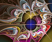 Lyrical Digital Art - Floral Hybrid  by Ester  Rogers