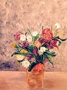 Annette Forlenza - Floral In A Colored Jar