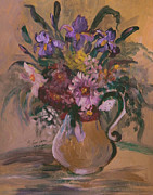 King James Prints - Floral In A Vase II Print by Anna Sandhu Ray