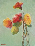 Floral Painting Print by Mary Wolf