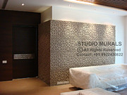 Studio Reliefs - Floral Panel by Milind Badve