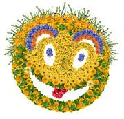 Aleksandr Volkov - Floral psychodelic smile