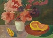 Jan Moore - Floral Still Life Study