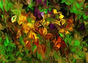 Botanical Fantasy Series - Floral Study 122012 by David Lane