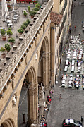 Architecture Photos Art - Florence and Piazza della Signoria by Melany Sarafis