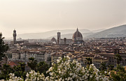 Digital Art Photos Prints - Florence Italy Print by Melany Sarafis