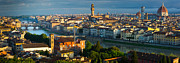 Arno Prints - Florence Panorama Print by Inge Johnsson