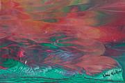 Florid Skies Print by Kristine Kellor