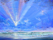 Rays Paintings - Florida by AnnaJo Vahle