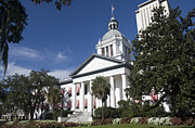Tallahassee Prints - Florida Capital Building Print by Ules Barnwell