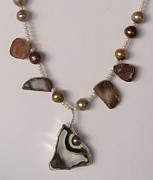 Soldered Jewelry - Florida Fossil Coral by Beverly Fox