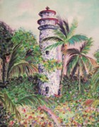 Leclair Prints - Florida Gardens Print by Suzanne  Marie Leclair