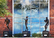 Florida Gators Posters - Florida Gators Heisman Trophy Winners Poster by Claudette DeRossett