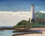 Commit Prints - Florida Lighthouse Print by Cathy McGregor