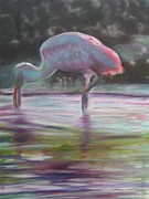 Spoonbill Paintings - Florida Living by Patty Weeks