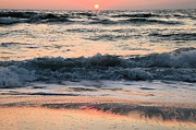 Sandy Beaches Prints - Florida Pastels Print by Adam Jewell