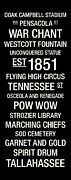 Pow Wow Posters - Florida State College Town Wall Art Poster by Replay Photos