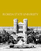 Florida State University - Gold Print by DB Artist