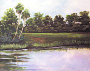 Featured Originals - Florida Swamp by Virginia Selley
