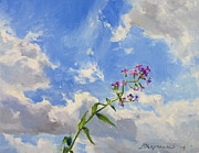 Victoria Kharchenko - Flower and sky