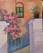 Brenda  Bell - Flower Covered Gate
