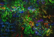 Botanical Fantasy Series - Flower Garden Gone Wild by David Lane
