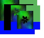 Sharon Ann Calvo - Flower Glow Green