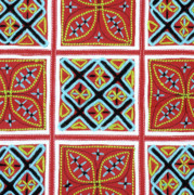 Patterned Photo Posters - Flower Hmong Embroidery 01 Poster by Rick Piper Photography