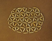 Local Food Art - Flower of Life by Jon Simmons