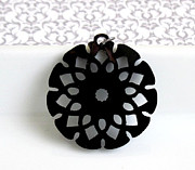 Blossom Jewelry Originals - Flower Pendant Necklace by Rony Bank