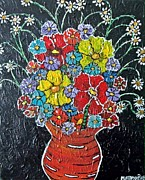 Pfeiffer Paintings - Flower Power by Matthew J Pfeiffer